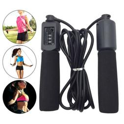 10FT Auto Counter Jump Rope Tangle-Free with Foam Handles fo