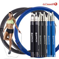 Fitnessclub 10FT Speed Jump Rope Boxing Gym Training Fitness