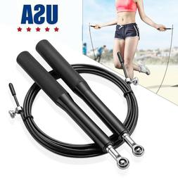 10Ft Speed Jump Rope Crossfit Boxing Weighted Ball Bearing B
