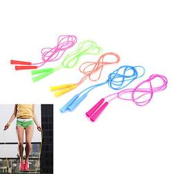 1x speed wire skipping adjustable jump rope fitness sport ex