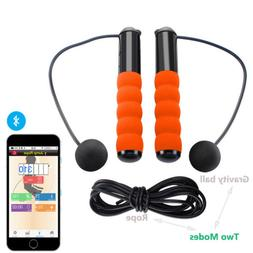 2in1 Smart Bluetooth Adjustable Skipping Jump Rope Calorie C