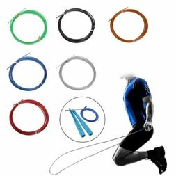 3m Crossfit Replaceable Steel Wire Cable Speed Jump Ropes Sk