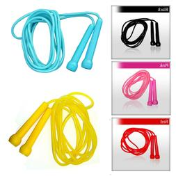 4Fit Plastic Skipping Ropes PVC Speed Jump Rope Fitness Exer