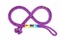 Just Jump It 8 Foot Single Jump Rope - Raspberry Confetti