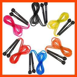 Garage Fit 9' Adjustable PVC Jump Rope Cardio Fitness Versat