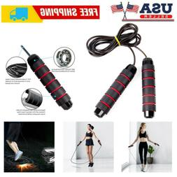 9 ft Jump Rope Aerobic Exercise Workout Speed Skipping Cross