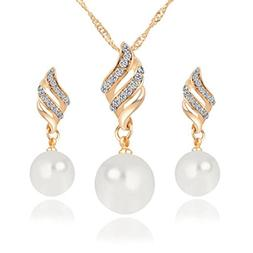 Sinfu® Necklace Earrings For 1 Set Luxury Princess Bridal J