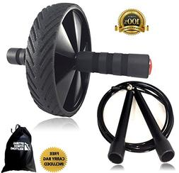 High Performance Ab Wheel Roller & Speed Jump Rope Exercise