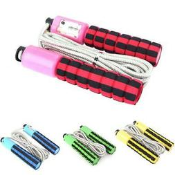 Adjustable Jump Rope, Jump, Skip, Rope, Skipping, Exercise,