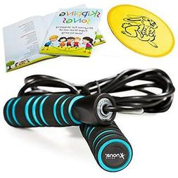 Adjustable Jump Rope with Carrying Pouch - Cardio Jumping Ro