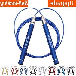 Goothdurs Adjustable High Speed Strong Aluminum Jump Rope -