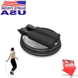 Aerobic Exercise Boxing Skipping Jump Rope Adjustable Bearin