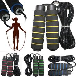 Aerobic Exercise Fitness Boxing Jump Skipping Rope Adjustabl