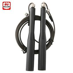 aluminum high speed steel cable jump rope