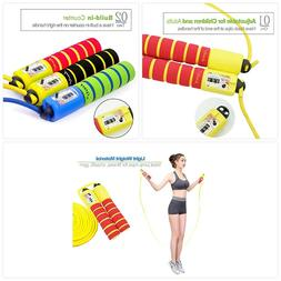 Aoneky Adjustable Kids Jump Rope with Counter and Comfortabl
