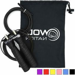 Wod Nation Attack Speed Jump Rope By Adjustable Jumping Rope