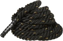 AmazonBasics 1.5in Battle Exercise Training Rope, 50ft