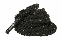 AmazonBasics 2in Battle Exercise Training Rope, 40ft