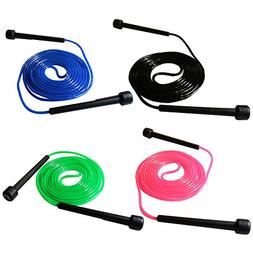 Fenzer Lot of 4 Black / Blue / Pink / Green 9 FT 2.7m Plasti