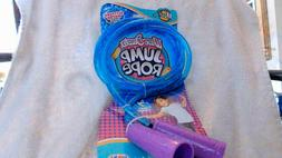 Blue glitter jump rope kids girls exercise toy ages 6+ Brand