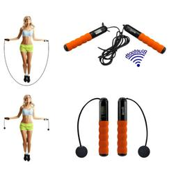 Acuvar Bluetooth Digital Jump Rope , 6 Exercise Modes