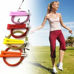 Body Building Fitness Accessories Jump Ropes Steel Wire Skip