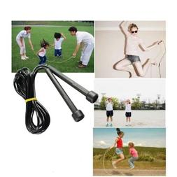 Boxing/Gym/Jumping/Speed/Exercise/Fitness Skipping Rope Blac