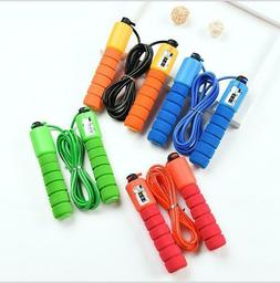 Children Kids Skipping Rope With Counter Jump Fitness Exerci