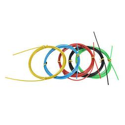Colorful Crossfit Replaceable Wire Cable Speed Jump Ropes Sk