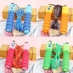 Cotton Glue Handle Count Jump Rope Student Sports Goods Outd