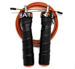 CrossFit Speed Jump Rope Adjustable Wire Cable Skipping Doub