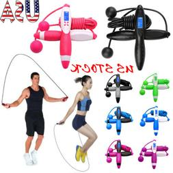 Digital Counting Rope Skipping Electronic Calorie Fitness Wi