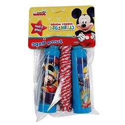KidPlay Products Disney Jump Rope 7ft Exercise Toy with Comf