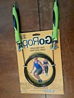 GoFit GoRope Speed Rope - 2mm Cable Jumprope