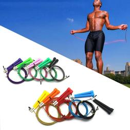 Exercise Fitness Accessories Jump Ropes Steel Wire Skip Rope