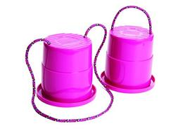 Just Jump It Set of 2 EZ Steppers - Active Indoor and Outdoo