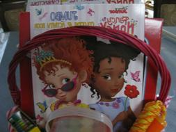 Fancy Nancy Gift Basket Coloring Book,Tea Party Dishes, Jump