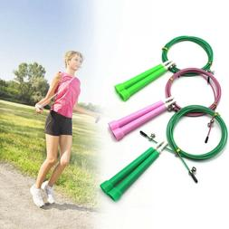 Fitness Accessories Adjustable  ABS Handle  Jump Ropes Steel