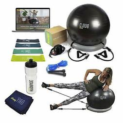 GYM TOOLS-Exercise Ball,Workout Resistance Band,Jump Rope,Gy