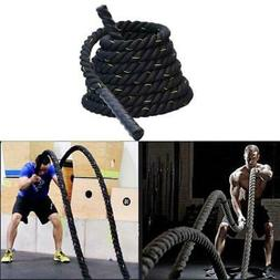 Heavy Jump Rope Skipping Rope Workout Battle Ropes for Men W