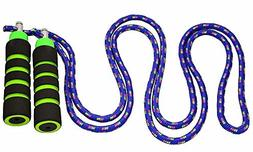 Anna's Rainbow Rope Kids Jump Rope Durable Child Friendly Sk