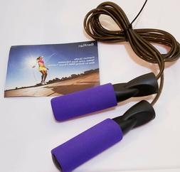 Jump Rope Adjustable Speed for Cardio MMA-Purple by BenRan-