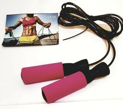 Jump Rope Adjustable Speed for Cardio MMA- Pink by BenRan -