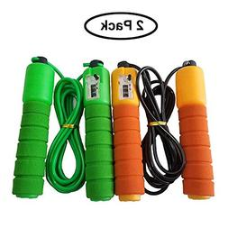 Jump Rope Adjustable for Fitness Double Unders Workout Exerc