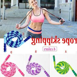 Jump Rope Adult Child Fancy Beaded Skipping Rope Fitness Spo