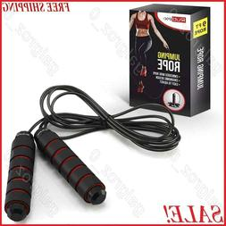 Jump Rope Crossfit Boxing Weighted Adult Ball Bearing Beaded