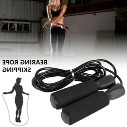 Jump Rope Crossfit Boxing Weighted Ball Bearing Beaded Fitne