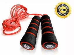 Jump Rope Exercise Cardio Strength Weight Loss Gym Accessory