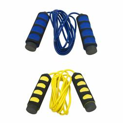 SAS Jump Rope for Cardio Fitness Training Foam Handle