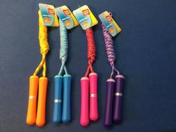 Jump rope for children 7 ft, available in several bright, fu